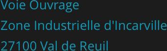 Zone Industrielle d'Incarville - 27100 Val de Reuil