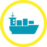 Pré ou post acheminement maritime ou aérien avec HIRSCH